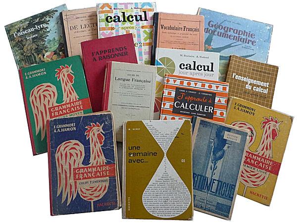 manuels anciens